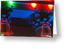 Holiday Lights 2012 Denver City And County Building M1 Greeting Card
