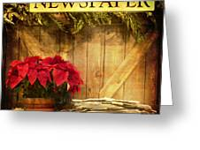 Holiday News Greeting Card