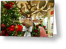 Holiday Reindeer Greeting Card