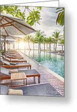 Holiday Resort Greeting Card