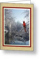 Holiday Season 2013 Greeting Card by Teresa Schomig