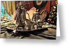 Holiday Silver Greeting Card