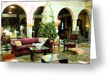 Holiday Time Inside Ringling Greeting Card
