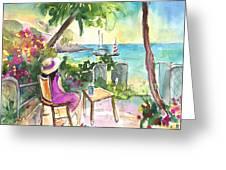 Holidays In Saint Martin Greeting Card