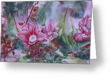 Holland Blooms Greeting Card