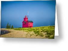 Holland Harbor Lighthouse Mi Greeting Card