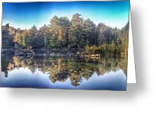 Hollow River Greeting Card