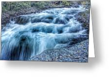 Hollow River Rapids Greeting Card