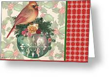 Holly And Berries-a Greeting Card