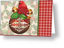 Holly And Berries-b Greeting Card