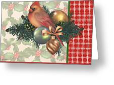 Holly And Berries-c Greeting Card