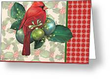 Holly And Berries-d Greeting Card