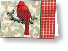 Holly And Berries-e Greeting Card