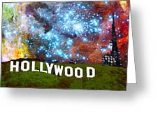 Hollywood 2 - Home Of The Stars By Sharon Cummings Greeting Card