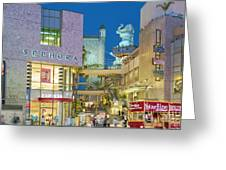 Hollywood And Highland Center Hoillywood Ca  Greeting Card