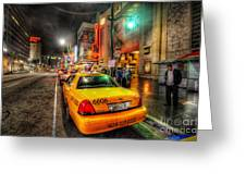 Hollywood Boulevard Greeting Card
