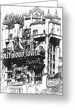 Hollywood Tower Greeting Card