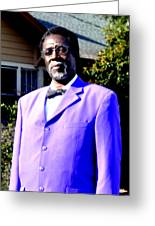 Hollywood Wearing His Dress Suit And Bow Tie Color Photo Usa Greeting Card