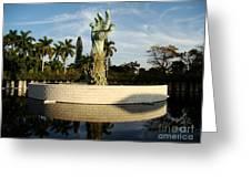 Holocaust Memorial In Florida Greeting Card