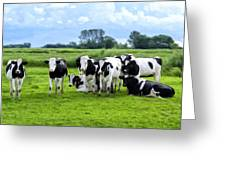 Holstein Heaven Greeting Card