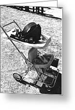 Holster Baby Carriage Helldorado Days Tombstone 1970 Greeting Card