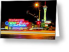 Holsum Las Vegas II Greeting Card by Kip Krause