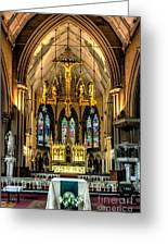 Holy Cross Greeting Card