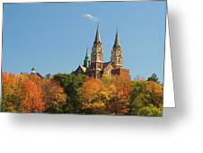 Holy Hill In Living Color Greeting Card