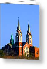 Holy Hill  Greeting Card by James Hammen