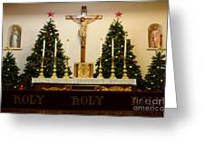 Holy Holy Holy Greeting Card by Bob Christopher