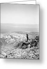 Holy Land Dead Sea, C1910 Greeting Card