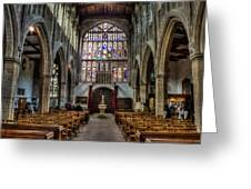 Holy Trinity Greeting Card by Trevor Wintle