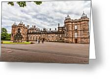 Holyrood Palace Greeting Card
