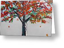 Homage To Autumn Greeting Card