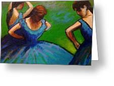 Homage To Degas II Greeting Card