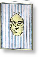 Homage To John Lennon  Greeting Card by John  Nolan