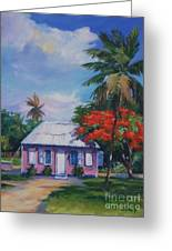 Home At Tall Tree   Savannah Greeting Card