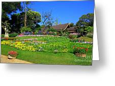 Home Gardening Zones Greeting Card by Boon Mee