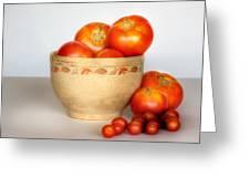Home Grown Tomatoes II Greeting Card