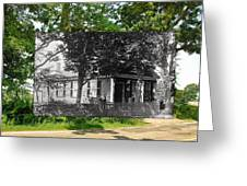 Home In Little Compton Rhode Island Greeting Card
