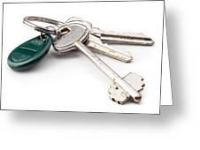 Home Keys Greeting Card