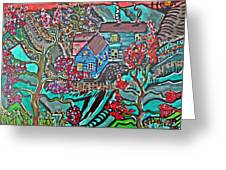 Home Greeting Card by Matthew  James