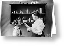 Home Medicine, C1900 Greeting Card