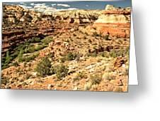 Home Of Calf Creek Falls Greeting Card