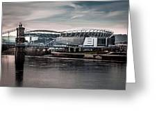 Home Of The Bengals Greeting Card
