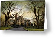 Home On A Hill Greeting Card