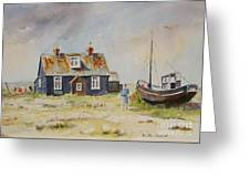 Home Sweet Home Dungeness Greeting Card