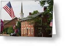 Home Town Usa Greeting Card