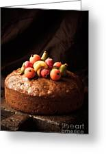 Homemade Rich Fruit Cake Greeting Card