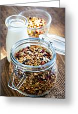 Homemade Toasted Granola Greeting Card